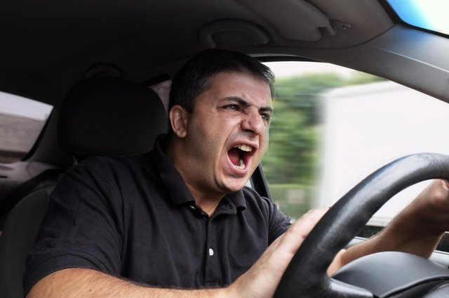 Those who are prone to road rage may wish to take a bus or walk instead (Picture: Shutterstock)