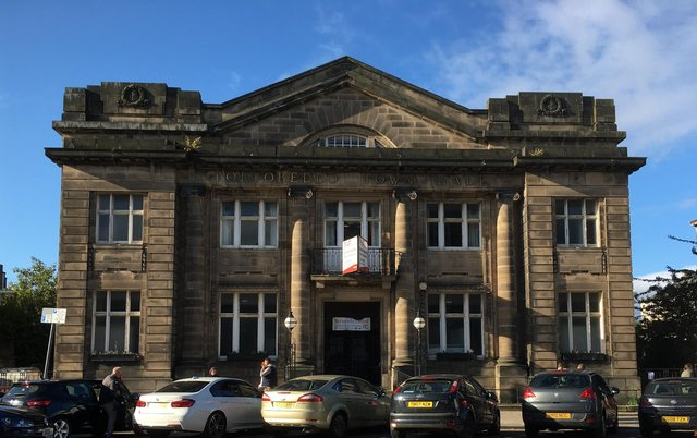 Portobello Town Hall dates back to 1914