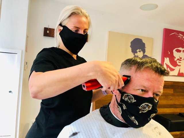 Haircutting services resume from today