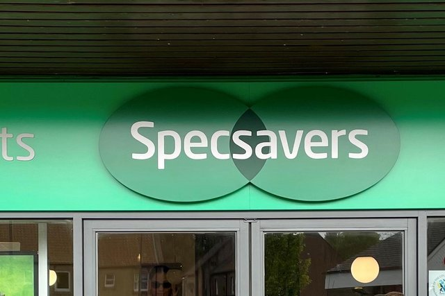 Specsavers, Linlithgow which was broken into in the early hours of Monday.