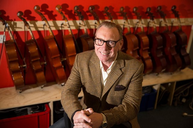Benny Higgins has been appointed chair of the Edinburgh Festival Fringe Society