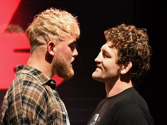 YouTube personality Jake Paul is set to go toe-to-toe with former UFC fighter Ben Askren. (Pic: Getty Images)