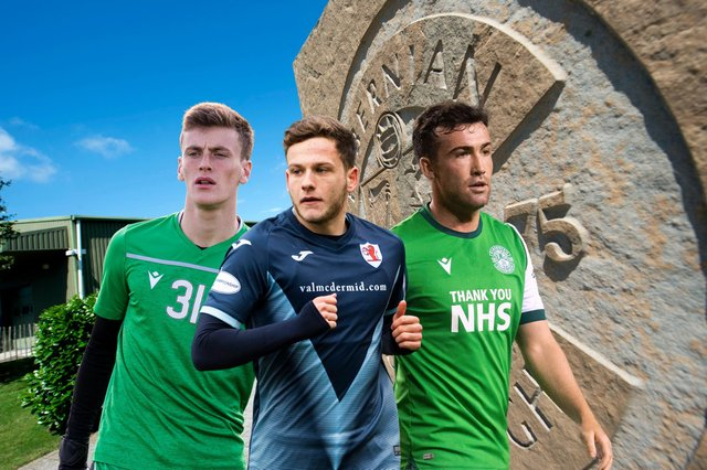 Paddy Martin, Jamie Gullan, and Stevie Mallan were among the Hibs loanees in action over the last few days
