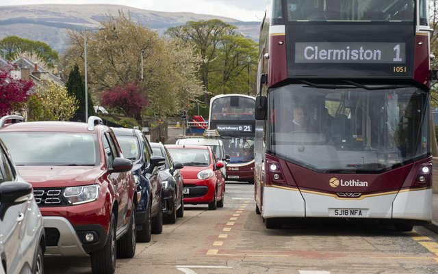 Lothian Buses have be the targets of appalling attacks over the last few months (Picture: Lisa Ferguson)