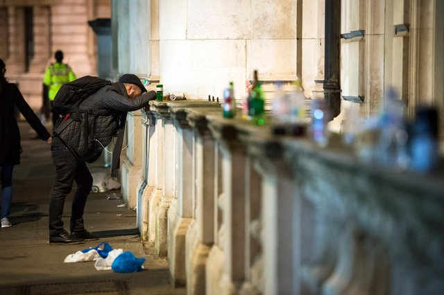 Public drunkenness may be a sign that life is returning to normal, suggests Susan Morrison (Picture: Ben Stevens/PA)