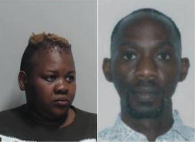 Moses Irungu (right) and Nontuthuzelo Halana were jailed on Thursday. Pic: Police Scotland