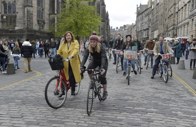 Edinburgh city centre will be subject to the next set of active travel measures introduced by the council.