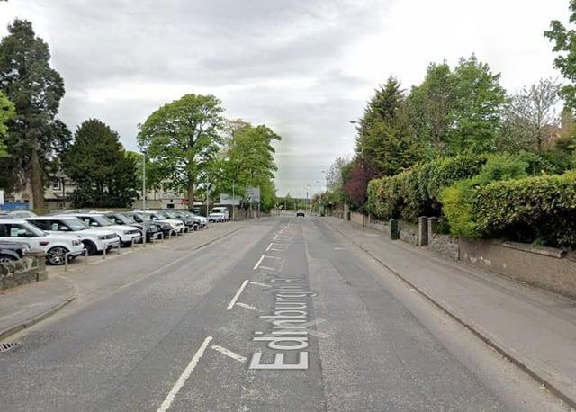 Edinburgh Road in Bathgate. Pic: Google