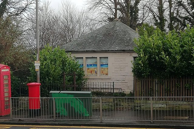 The public toilets in Juniper Green set to become a community centre