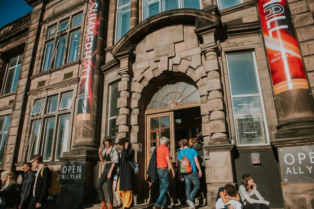 Summerhall, one of the most important theatre and music venues on the Fringe, is due to celebrate its 10th anniversary this year. Picture: Mihaela Bodlovic.