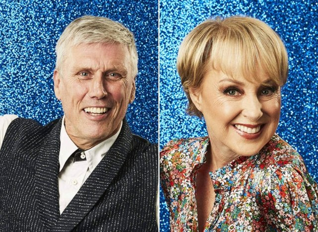 Sally Dynevor and Bez from the Happy Mondays were announced as the first two celebrity contestants for Dancing on Ice 2022 (Image credit: ITV)