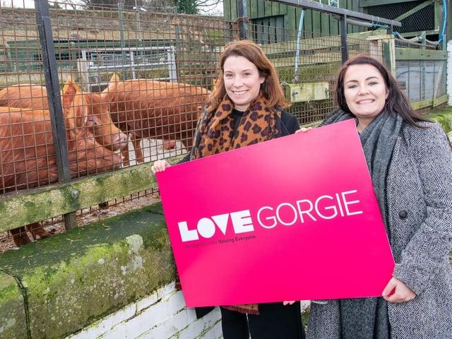 The new LOVE Gorgie Farm opened in February 2020.