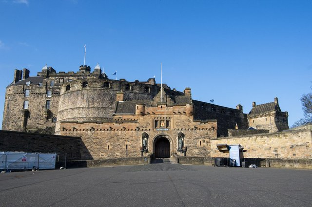 Police Scotland has confirmed that a 28 year-old man has been charged in connection with an incident of 'dangerous and irresponsible' driving on the esplanade at Edinburgh Castle last week (Photo: Lisa Ferguson).