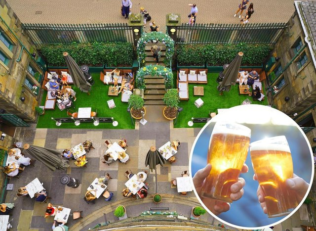 The best beer gardens in Edinburgh, chosen by our readers. Photo: Rose Street Garden by Play Media Group