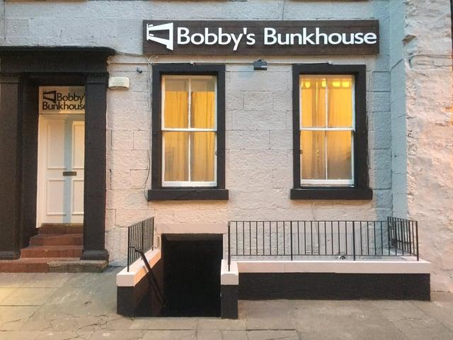 Bobby's Bunkhouse in 9 Merchant Street, Edinburgh.