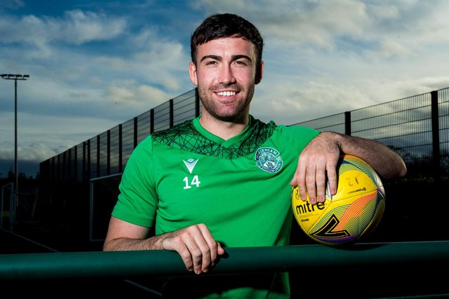 Stevie Mallan has returned to Hibs following his loan spell in Turkey. (Photo by Ross Parker / SNS Group)