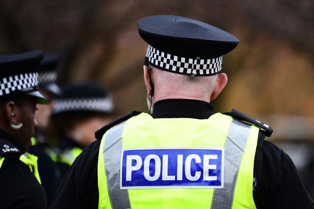 Police Scotland (Photo: John Devlin).