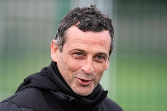 Hibs manager Jack Ross says he enjoys having records to aim for as his team head into the final stages of a rewarding season. Photo by Mark Scates / SNS Group