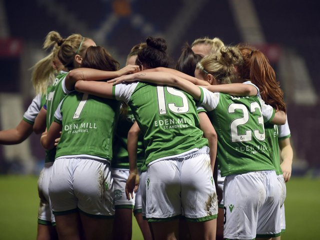 Hibs Ladies finished fourth in the SWPL1. (Picture: Lisa Ferguson)