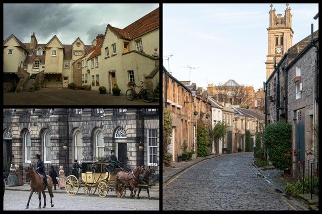 Edinburgh's historic charm is evident all across the city.