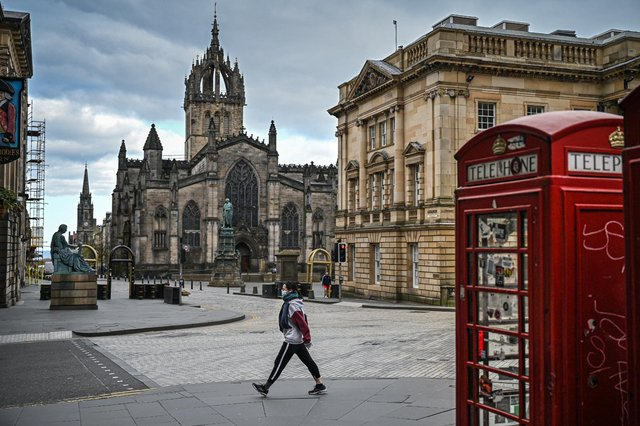 One year since Scotland's first lockdown, the country is only just beginning to emerge from another (Getty Images)