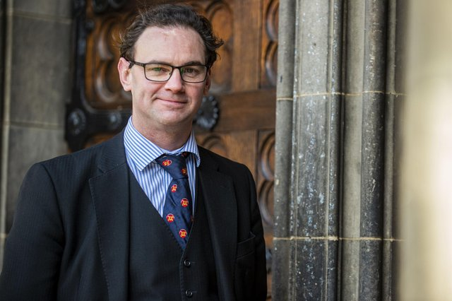 Stephen O'Rourke QC, author of The Crown Agent