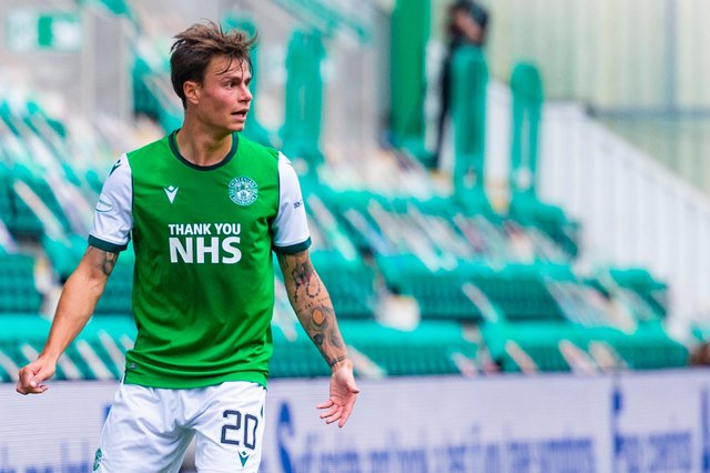 Melker Hallberg might have had limited gametime this season but he put in a barnstorming performance against Dundee United
