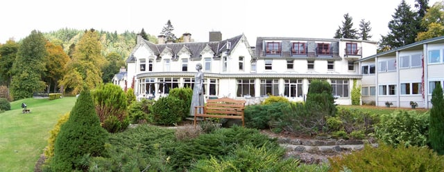 The Greenpark Hotel in Pitlochry