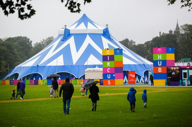 Underbelly is planning to bring its Circus Hub venue back to the Meadows this summer. Picture: Scott Louden