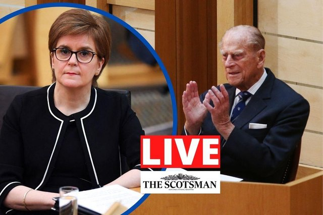 The Scottish Parliament will sit today after being recalled for only the sixth time in its history to show respect to the Duke of Edinburgh.
