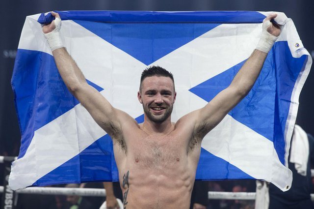 Josh Taylor is to fight Jose Ramirez in Los Vegas. Picture: PA