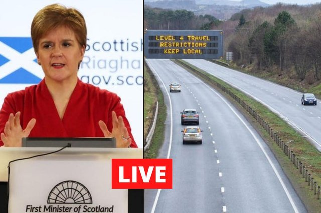 Live blog bringing you the latest Covid-19 updates from Scotland, the UK and the world.