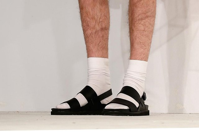Susan Morrison is not a fan of socks with sandals (Picture: Tristan Fewings/Getty Images)