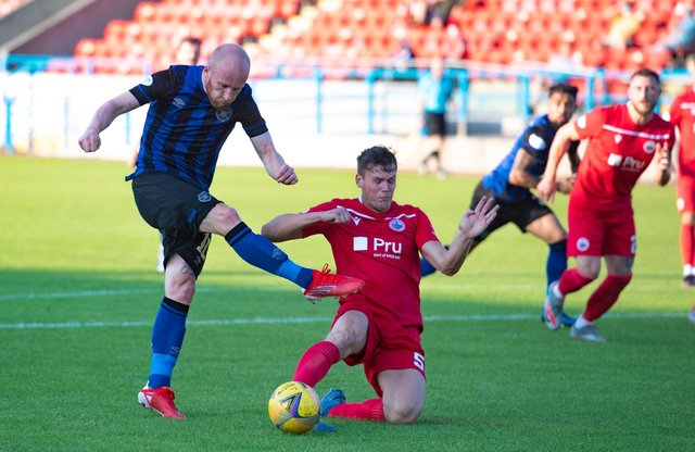 Live coverage of the Premier Sports Cup clash between Stirling Albion and Hearts at Forthbank Stadium. Picture: SNS