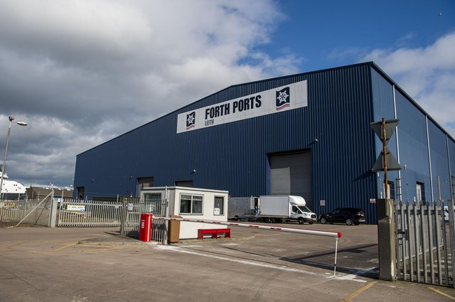 The new First Stage Studios complex in Leith Docks. Picture: Lisa Ferguson