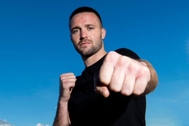 """Josh Taylor expects the """"very best version"""" of Jose Ramirez to turn up for their fight in Las Vegas. Picture: Bill Murray/SNS"""
