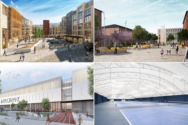 Some of the developments that will be changing the face of Edinburgh during 2021.