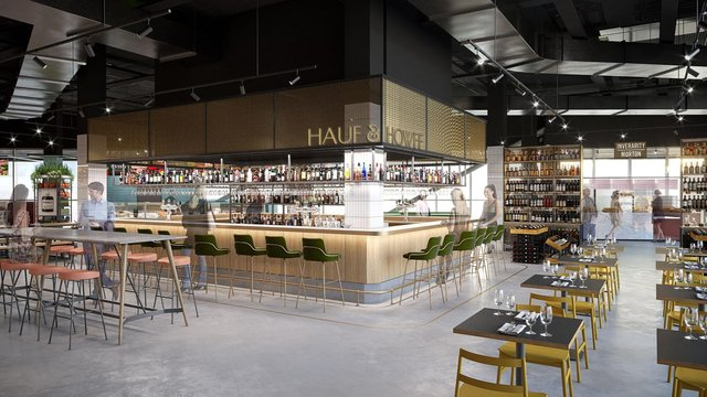 Both wholesalers will enter the retail market for the first time at the ambitious Bonnie & Wild food hall