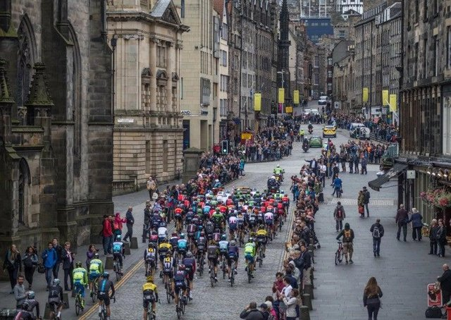 This year's Tour of Britain will include a first-ever stage finish in Edinburgh.