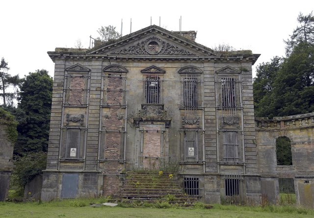 Mavisbank House dates back to 1723 but was devastated by fire in 1973
