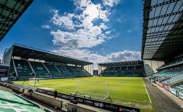 Hibs hope to have up to 5000 fans inside Easter Road for next month's friendly against Arsenal. (Photo by Ross Parker / SNS Group)