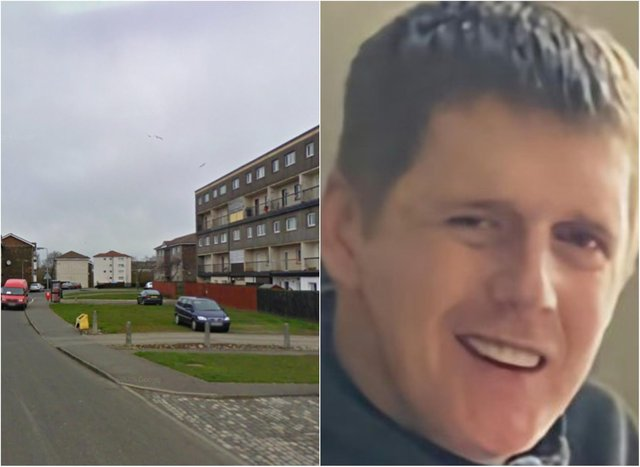 Dean Ritchie was pronounced dead at the scene in Mosside Drive. Pictures: Google/Police Scotland