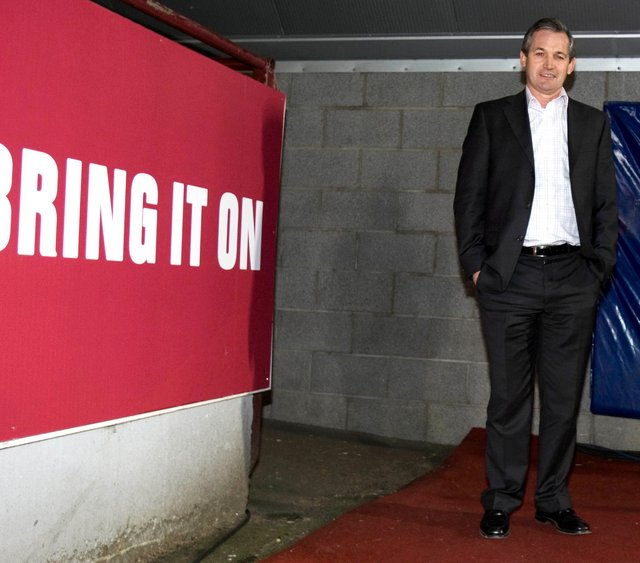 Former Hearts boss George Burley. Picture: SNS