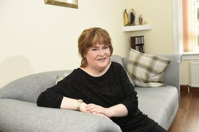 Happiest at home: Susan Boyle Pic - Greg Macvean