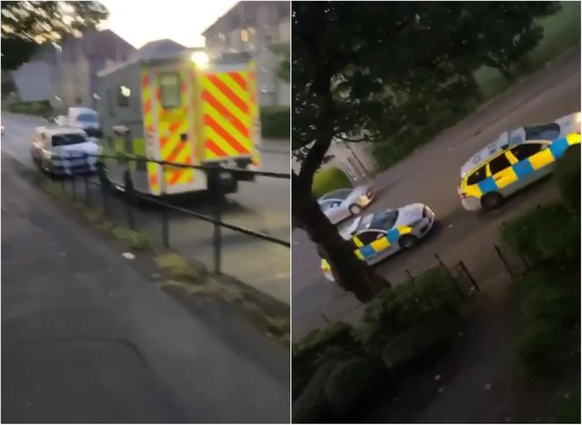 Lochend Road: Two men in hospital with serious injuries and two arrested after police attend disturbance at Edinburgh flat. Picture credit: Mia Ramsay