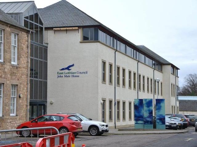East Lothian Council HQ at John Muir House