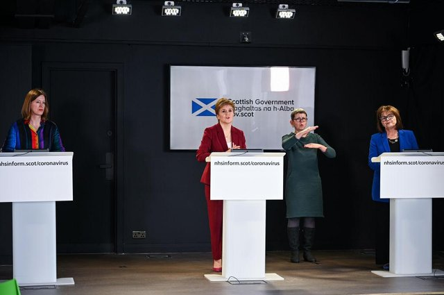 The BBC will no longer broadcast daily coronavirus briefings held by the Scottish Government, as purdah kicked in ahead of the Holyrood election in May.
