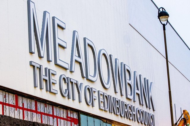 The New Meadowbank Sport Centre will be home to Edinburgh City. Pic: Lisa Ferguson
