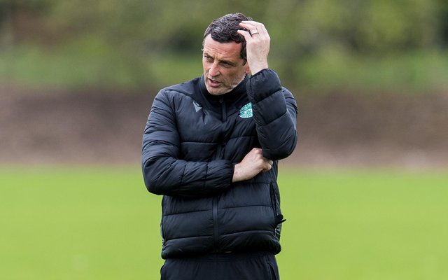 Hibs boss Jack Ross has not featured on PFA Scotland's shortlist for manager of the year. Picture: SNS