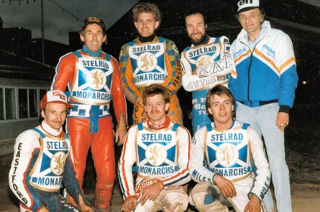 The 1987 Edinburgh Monarchs speedway team